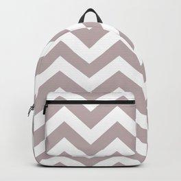 Black Shadows - violet color - Zigzag Chevron Pattern Backpack