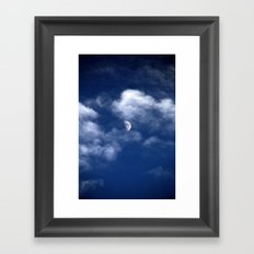 Waxing Gibbous Framed Art Print