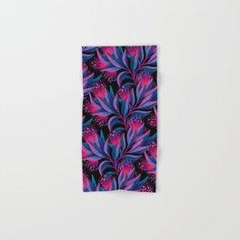 Pohutukawa - Pink / Blue Hand & Bath Towel