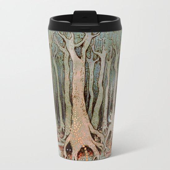 Tall Woods, Colour Metal Travel Mug