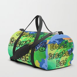 World's Greatest Dad Duffle Bag