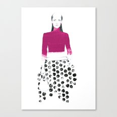 Jane Canvas Print