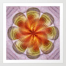Senores Au Naturel Flower  ID:16165-061704-49220 Art Print