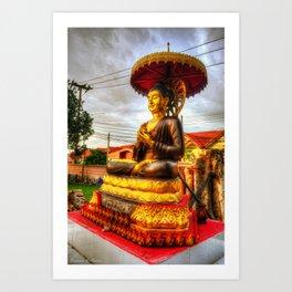 Buddha Statue Thailand Art Print