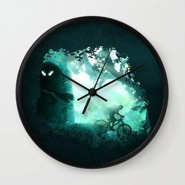 Meet the Monster Wall Clock