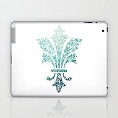 Fleur De Lis - French - Blue Laptop & iPad Skin
