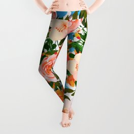 Rose Garden #society6 #decor #buyart Leggings
