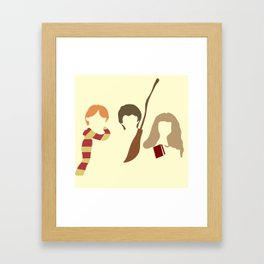Baby Wizard Trio Framed Art Print