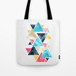 Triscape Tote Bag