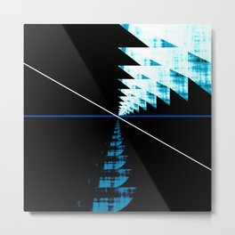Rupture Point Metal Print