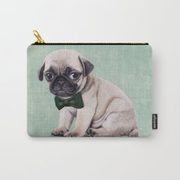 Angry Pug Carry-All Pouch