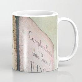 Pink Poe Coffee Mug