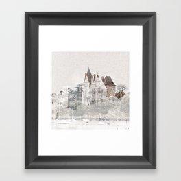 - cast - Framed Art Print