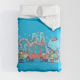 Octopus Carwash Comforters