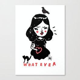 Whatever Canvas Print
