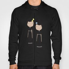 Meredith and Delany: Vampire Twins Hoody