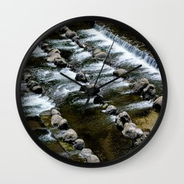 Slow Flow Wall Clock