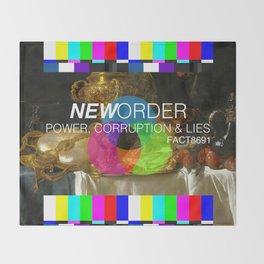 Power, Corruption & Lies Throw Blanket