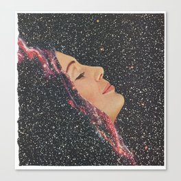 Galactic Shift Canvas Print