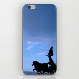 Sky chariot iPhone Skin
