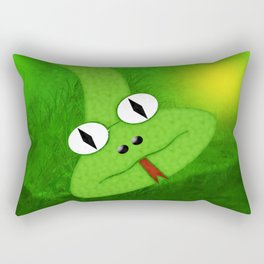 Snake 3 Rectangular Pillow