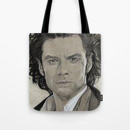 Aidan Turner: Poldark Tote Bag