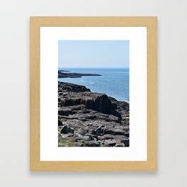 Northern Sea Framed Art Print