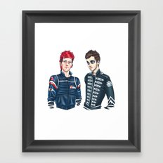 My Chemical Pilots Framed Art Print