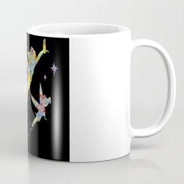 Peter Pan and Tinker Bell Watercolor Coffee Mug