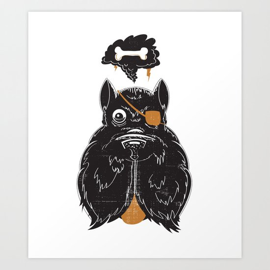 The Last Pirate King of Scotland Art Print