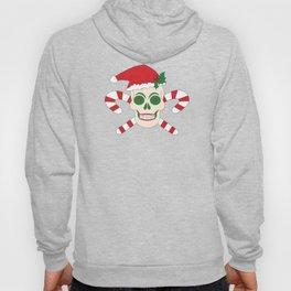 Creepy Christmas Santa Skull Hoody