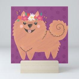 Pomeranian Princess Mini Art Print