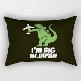 I'm big in Japan - Godzilla Rectangular Pillow