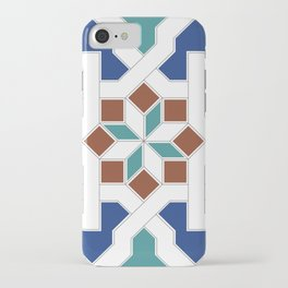Geometric Pattern - Oriental Design Pt. 7 iPhone Case