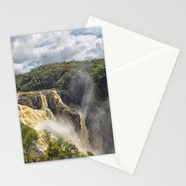 Beautiful wild waterfall Stationery Cards