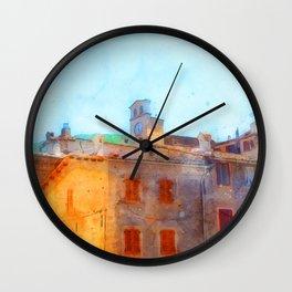 Scanno, Italy Wall Clock
