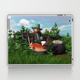 Leprechaun Gold Laptop & iPad Skin