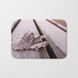 Frosty leaf Bath Mat