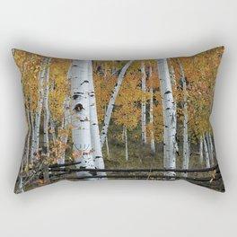 Autumn Aspens Rectangular Pillow