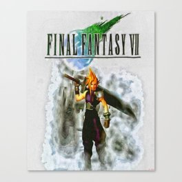 Cloud Strife Final Fantasy 7 Canvas Print