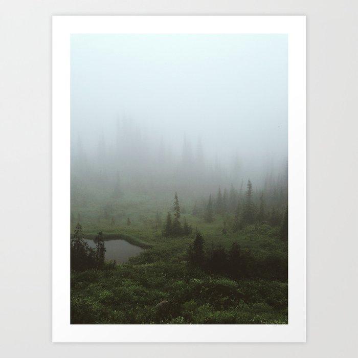 Fogland Art Print
