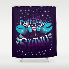 Shiny v2 Shower Curtain