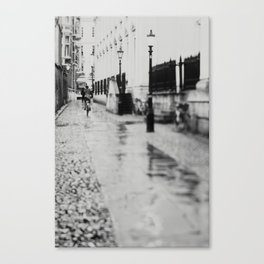 in the streets of Cambridge ... Canvas Print