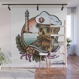 Skull Cap Wall Mural