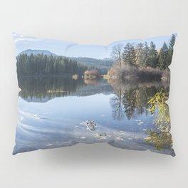 Beautiful Fall Day at Fish Lake Pillow Sham
