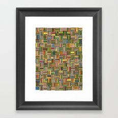 California Collagescape Framed Art Print