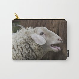 sheep on the farm Carry-All Pouch
