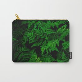Deep Forest Ferns Carry-All Pouch