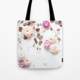 SPRING FLOWERS IN BLUSH 1 Tote Bag