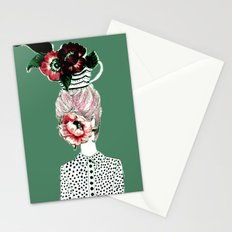 Tea Girl Stationery Cards